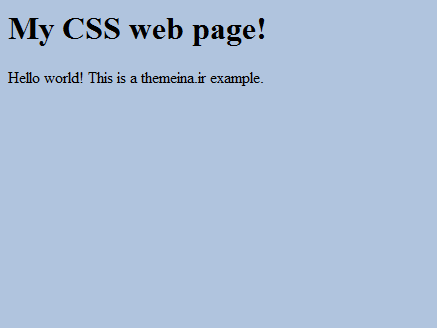 CSS استایل بندی جلسه چهارم CSS استایل بندی جلسه چهارم CSS استایل بندی جلسه چهارم Capture