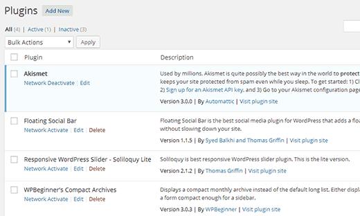 راه اندازی و تنظیم وردپرس چند سایته راه اندازی و تنظیم وردپرس چند سایته راه اندازی و تنظیم وردپرس چند سایته activate plugins multisite128