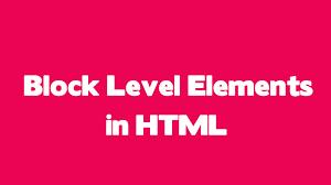 بلوک HTML جلسه نهم