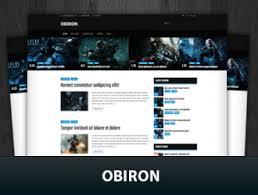 قالب بازی وردپرس Obiron