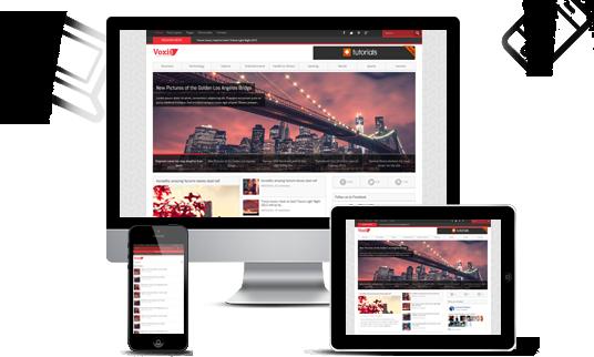 قالب مجله خبری Voxis قالب مجله خبری Voxis قالب مجله خبری Voxis responsive layout voxis wordpress1