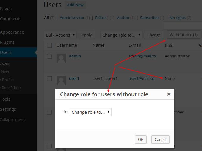 پلاگین وردپرس تعیین نقش کاربران پلاگین وردپرس تعیین نقش کاربران پلاگین وردپرس تعیین نقش کاربران screenshot 5 1