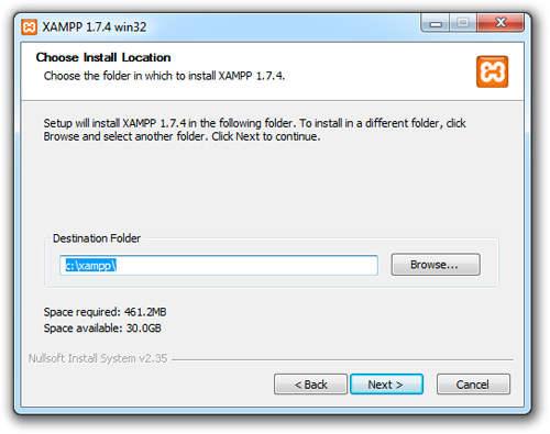 نصب PHP در ویندوز جلسه دوم نصب PHP در ویندوز جلسه دوم نصب PHP در ویندوز جلسه دوم xampp1