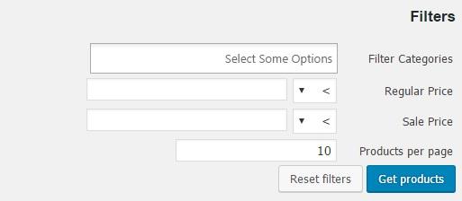ویرایش محصولات در یک زمان در ووکامرس ویرایش محصولات در یک زمان ویرایش محصولات در یک زمان filters1