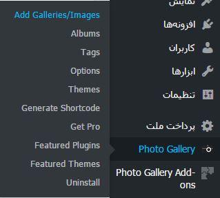ساخت گالری تصاویر در وردپرس  ساخت گالری تصاویر در وردپرس ساخت گالری تصاویر در وردپرس wordpress gallery plugin 3