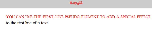 شبه عناصر در CSS شبه عناصر در css شبه عناصر در CSS Capture
